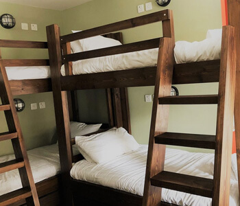 Bunkbeds at The Toon Saloon